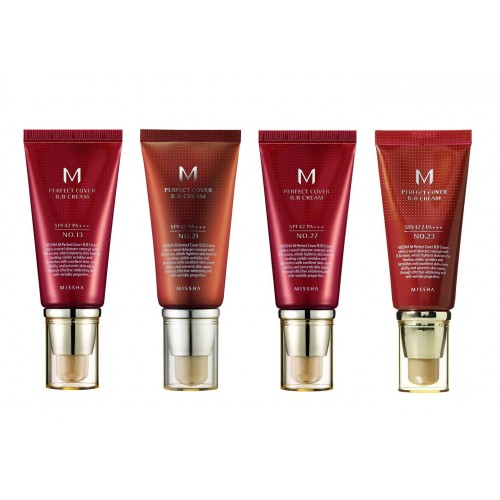 missha perfect cover b.b cream 4 kinds (may give you new edition rx)