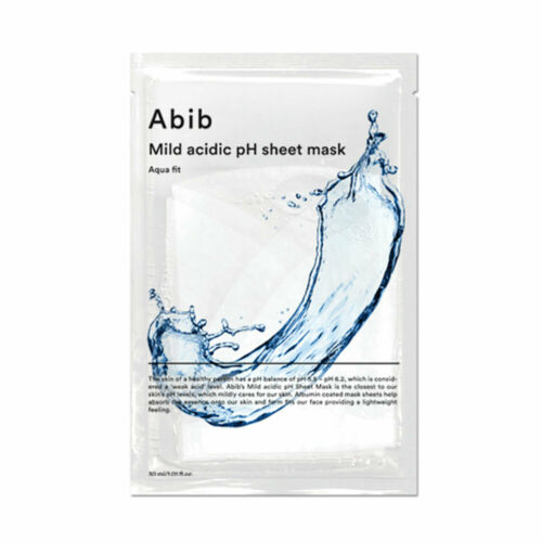 abib mild acidic ph mask sheet (aqua fit)
