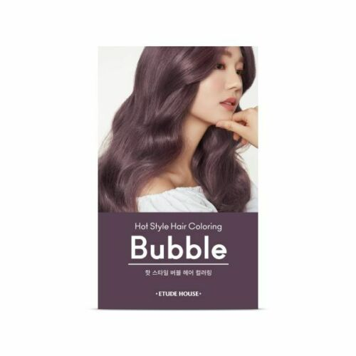 Etude House hot style bubble hair coloring 10PP (it may open case prevent from leaking)