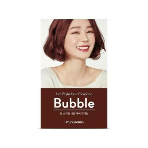 Etude House hot style bubble hair coloring 7R (it may open case to prevent form leaking)
