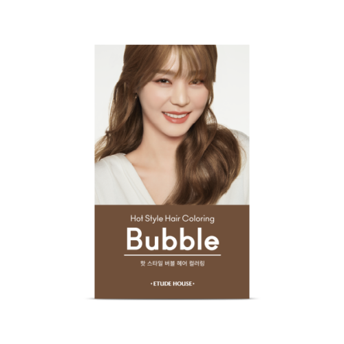 Etude House hot style bubble hair coloring 8N (it may open case prevent from leaking)