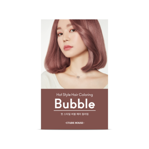 etude House hot style bubble hair coloring 10PK (it may open case prevent from leaking)