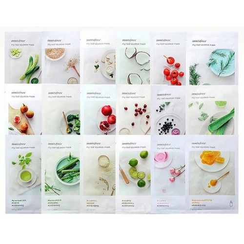 innisfree My real squeeze mask (buy 10 + 1)
