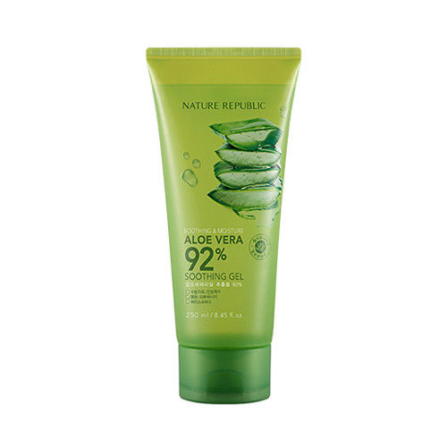 nature republic aloe vera 92% soothing gel (tube)