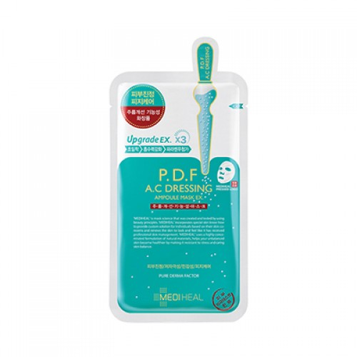 mediheal p.d.f a.c dressing ampoule mask (10 sheet for 25$)